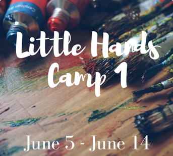 Projects with clay, fused glass, canvas painting, watercolor, pallet board painting, art journaling, mixed media, and more.
