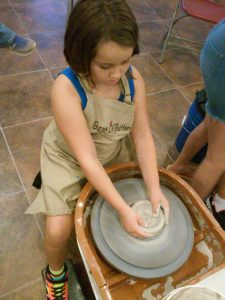 Kids Clay Wheel Throwing