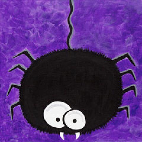 Fuzzy Spider