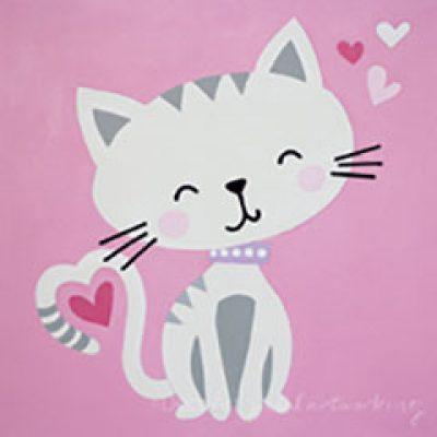 Kitty Love Design Template