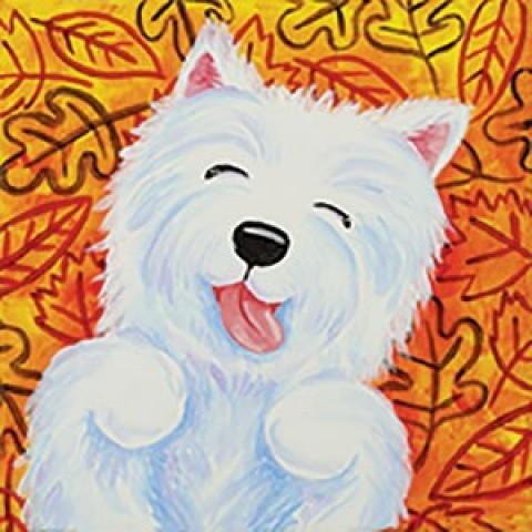 Leaf Pile Pup