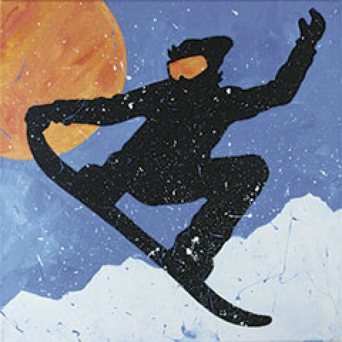 Snowboarder I
