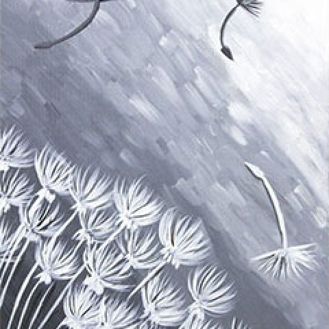 Wind Swept Dandelion