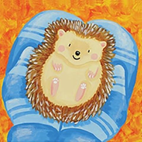 Holding Hedgehog