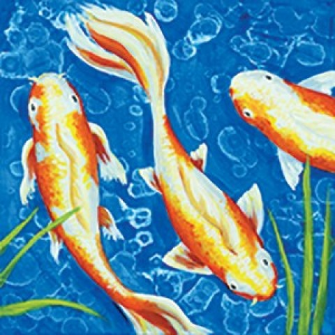 Lily Pond Trio I