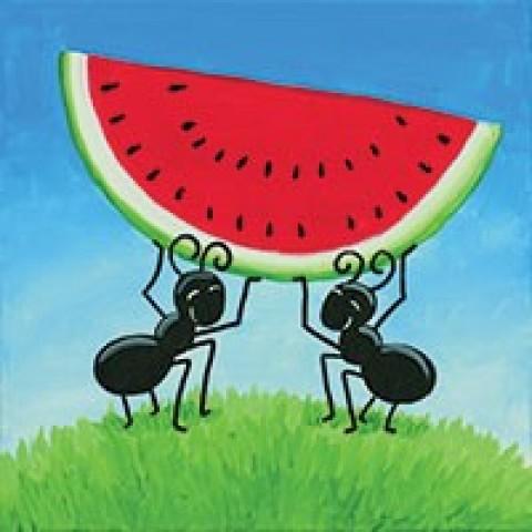 Watermelon Heist