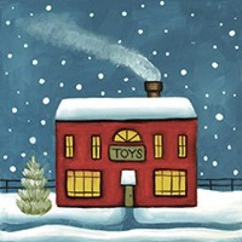 Winter Village Shop