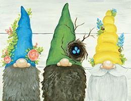 Garden Gnomes Design Template