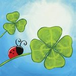 Lucky Ladybug Design Template