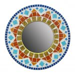 Ray Of Sunshine Mosaic Mirror