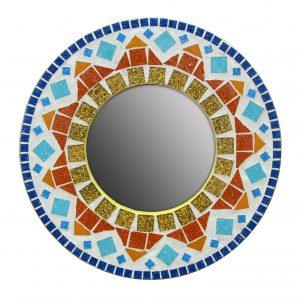 Ray Of Sunshine Mosaic Mirror