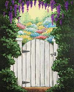 Secret Garden Design Template