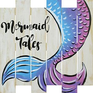 Mermaid Tails 17.5x17.5 Board Project